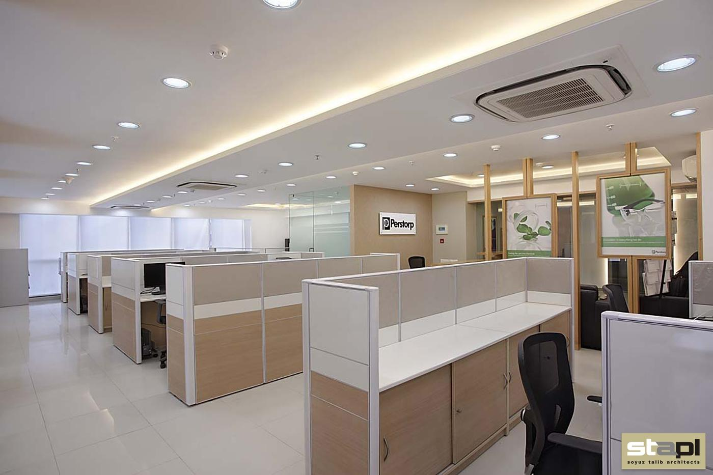 Corporate office soyuz talib architects for Corporate office interiors
