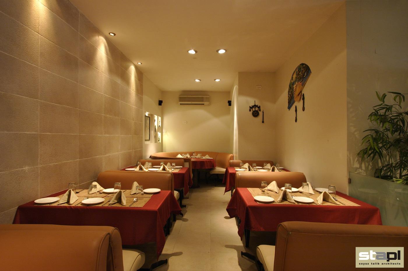 Theme Restaurant Soyuz Talib Architects