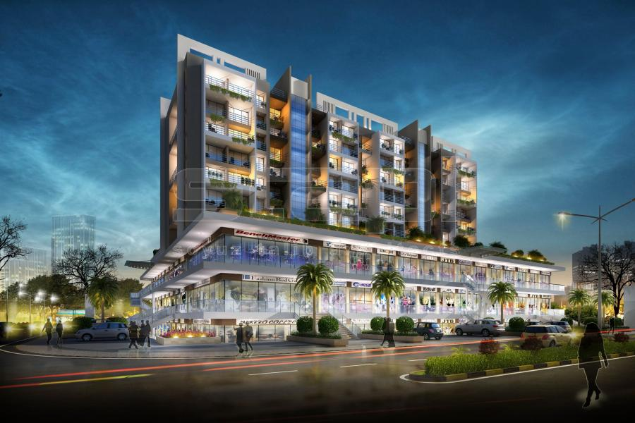 Commercial residential building designs